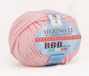MERINO 12 (86276) нежно-розовый