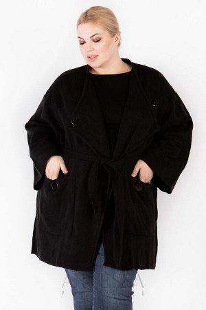 Пальто PL25028BLK01