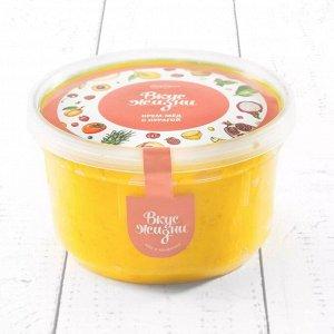 Крем-мёд с курагой в пластиковой банке Вкус Жизни New 300 гр.