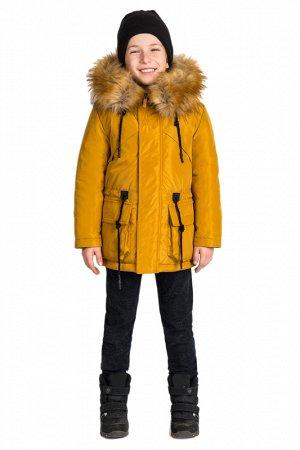 Куртка - парка с пристежкой для мальчика