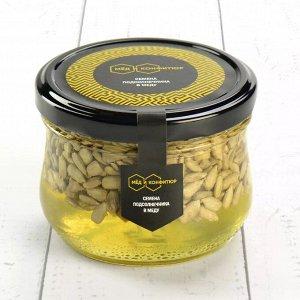 Семена подсолнечника в меду 240 гр.