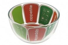 Миска Миска 0,45л ТМ Appetite имеет объём и размер: 0.45 л. Выполнен из материала: жаропрочное стекло. Упаковка: цветной вкладыш. Миска 0,45л ТМ Appetite можно использовать на «Духовой шкаф, микроволн