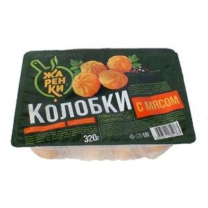 Колобки с мясом, Жаренки, Морозко, 320 г, (12)