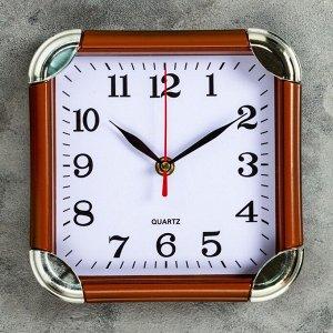"""Часы настенные. серия: Классика. """"Рейчел"""". 19.5х19.5 см"""