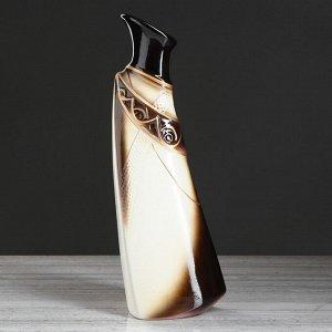 """Ваза напольная """"Тария"""", белая, 40 см, микс, керамика"""