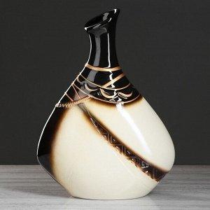 "Ваза настольная ""Тикорам"" 36,5 см, керамика"