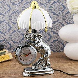 """Часы-светильник """"Дамбо"""", с будильником, 27х12 см"""