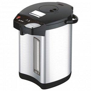 Чайник-термос электрический 900 Вт, 4,5 л DЕLTA DL-3038 нержавеющая сталь
