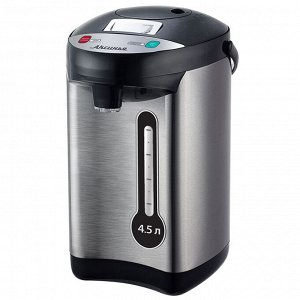 Чайник-термос электрический 800 Вт, 4,5 л АКСИНЬЯ КС-1803 нержавеющая сталь