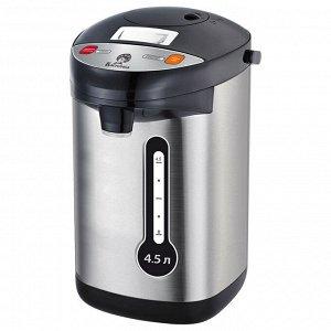 Чайник-термос электрический 800 Вт, 4,5 л ВАСИЛИСА ВА-5009 нержавеющая сталь