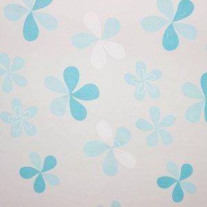 Тюль «Этель» Цветы лета. ширина 135 см. высота 270 см