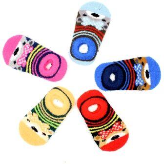 Детям теплые носки, перчатки, лосины ❄  — Носки укороченные махровые — Для девочек