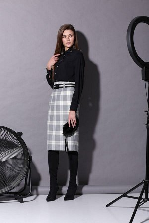 Женский комплект блузка и юбка