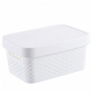 Корзина малая пластиковая без крышки 3071А