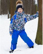Зимний Комбинезон текстильный для мальчиков