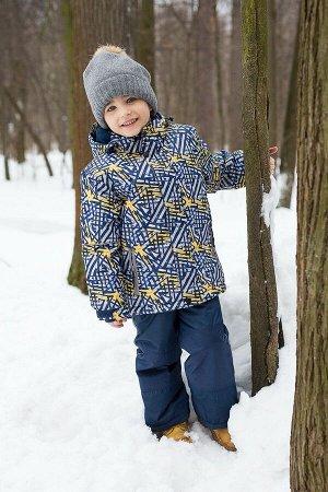 Комплект текстильный для мальчиков: куртка, полукомбинезон