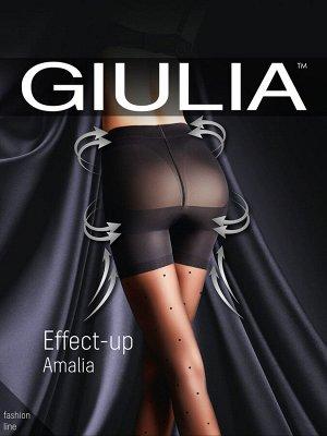 Колготки Giulia в мелкий горошек-продам или обменяю на размер меньше