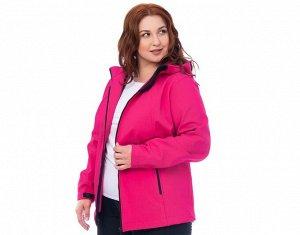 Куртка Куртка из утепленной плащевки. Материал: SOFTSHELL (Софтшелл). Цвет -  фуксия, василек.