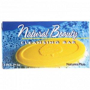 Nature&#x27 - s Plus, Очищающее мыло «Природная красота», 99,2 г
