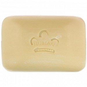 Nubian Heritage, Кусковое мыло из необработанного масла ши, 142 г