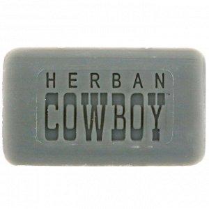 Herban Cowboy, Дезодорирующее пилированное мыло, Сумрак, 5 унц. (140 г)