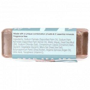 One with Nature, Тройное пилирование минеральное мыло, грязь мертвого моря, без отдушки, 200 г (7 унций)