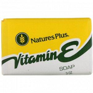 Nature&#x27 - s Plus, Мыло с витамином Е, 3 унции