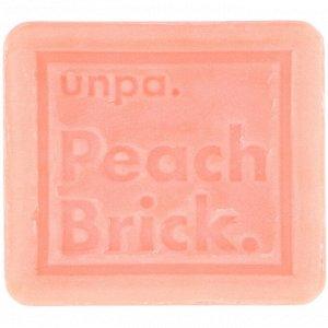 Unpa., Персиковый кирпич, Мыло, улучшающее тон кожи, 120 г