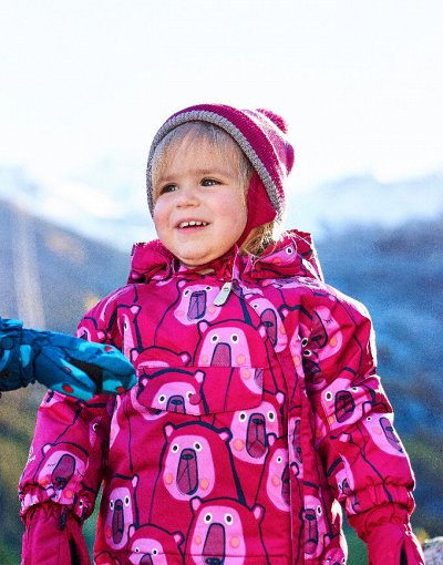 Color kids — мембранная одежда для детей из Дании