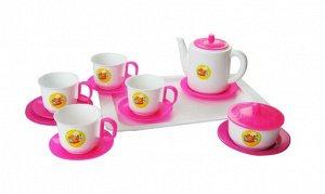 Пластмастер. Набор чайный для кукол арт.21001 /20