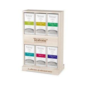 Бокс деревянный TEATONE, для пакетированного чая, 287*121*425мм