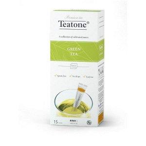 Зеленый чай TEATONE в стиках, (15 стиков по 1,8г)