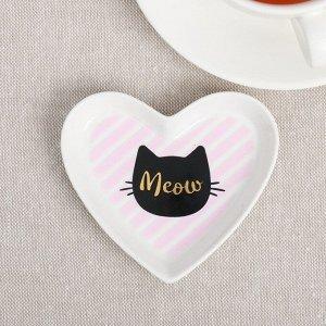 Подставка под чайный пакетик «Кот»