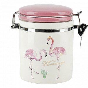 """""""Фламинго"""" Банка для сыпучих продуктов 700мл 2520743"""