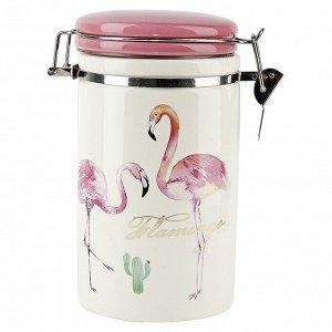 """""""Фламинго"""" Банка для сыпучих продуктов 1000мл 2520745"""