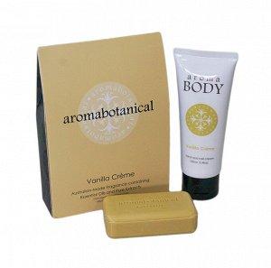 """""""Aroma Botanical"""" Подарочный набор """"Ванильный крем"""" 2пр.(мыло, крем для рук) AB-GIFTS100VC ВЭД"""