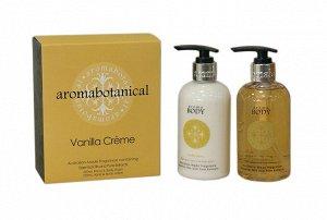 """""""Aroma Botanical"""" Подарочный набор по уходу за телом """"Ванильный крем"""" 2пр.AB-GIFTS250VC ВЭД"""