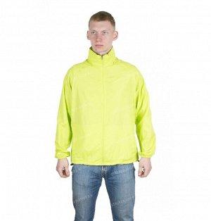 Куртка-ветровка в чехле, желтая