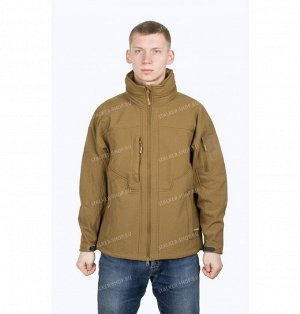Trooper Soft Shell Jacket, coyote