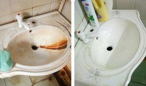 Чистящее средство для ванной комнаты 415 гр