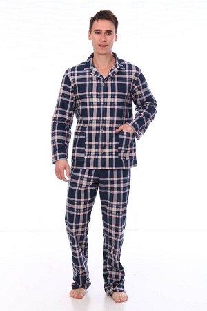 Пижама мужская,модель203,фланель (46 размер, Алваро, вид 5)