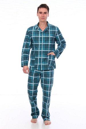 Пижама мужская,модель203,фланель (46 размер, Клаудио, вид 3)
