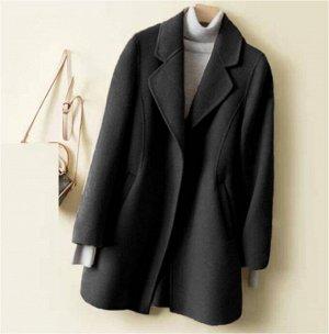 Пальто Пальто. Материал: Полиэфирное волокно (полиэстер). Размер: (бюст, длина см) M (94, 80), L (98, 81), XL (102, 82), 2XL (106, 83), 3XL (110, 84).
