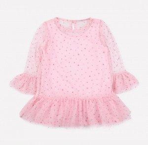 Платье для девочки Crockid К 5578 нежно-розовый