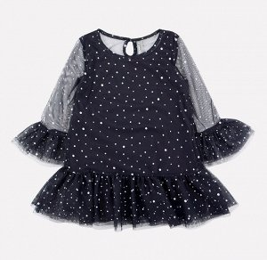 Платье для девочки Crockid К 5578 черный