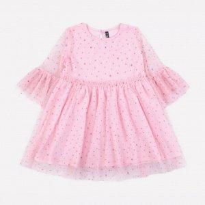 Платье для девочки Crockid К 5579 нежно-розовый