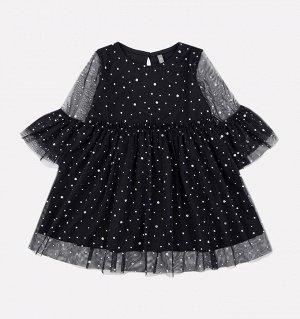 Платье для девочки Crockid К 5579 черный