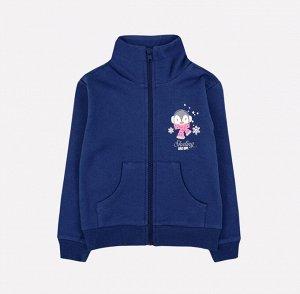 Куртка для девочки Crockid К 300860 полуночно-синий