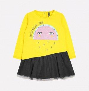 Платье для девочки Crockid КР 5561 желтый к231