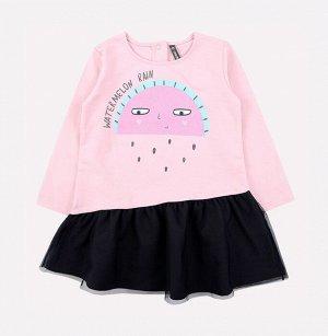 Платье для девочки Crockid КР 5561 холодно-розовый к231